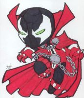 Chibi-Spawn. by hedbonstudios