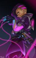 [OVERWATCH] Sombra by LaineKeith