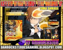 Tsuna Sawada Theme Windows XP by Danrockster