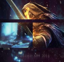 The archer (close up) by ZedLord-Art