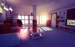 3D Realistic Room by SkullDodle
