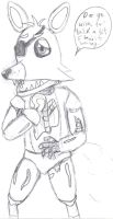 AU-Foxy the Pirate-WIP by CrossoverGamer