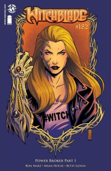 Witchblade  182 Color by maanhouse