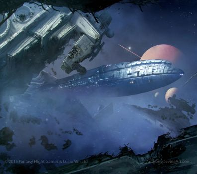 STAR WARS Armada Foresight by AnthonyDevine