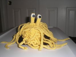 The Flying Spaghetti Monster by cave-baby
