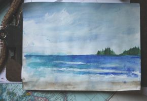 Long Beach, Tofino by iscaylis