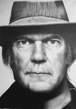 Neil Young by cjohnsartist83