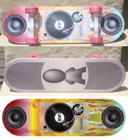 Paper Skateboard - Turntable Custom by Sinner-PWA
