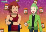 PKMN V - Stephan and Cilan - Protein Time by Blue90