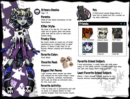 Monster High OC: Grimora Demise by EvilFuzz