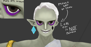 Ghirahim Model Details by ShrubbyNerb