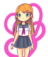 Kirino kousaka COLORED by Moe-love-chu