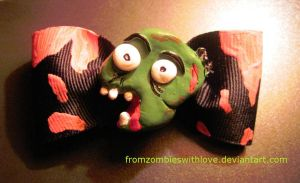 Zombie Bow by fromzombieswithlove