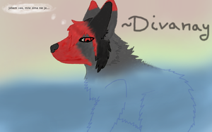 Divanay under/in water :3 by Divecchi