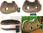 Giant Handmade Cookie Cat Plushie[For Sale] by GrnMarco