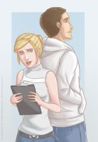 AC: Lucy and Desmond by WithSkechers