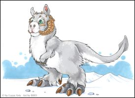 Chibi TaunTaun by BloodhoundOmega