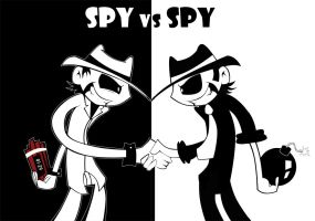 Spy vs Spy by Aggrotard