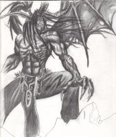 Illidan Stormrage by Fishback