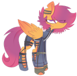 Shorty by scootaloocuteness