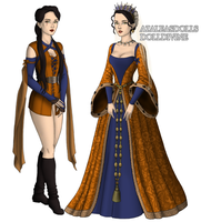 Isabella (Game of Thrones vs The Tudors) by x-THE-SANCTUARY-x