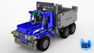 Lego Technic Dump Truck by Rooboy3D