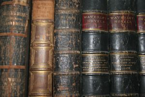 Old Book spines stock by RaeyenIrael-Stock