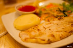 Grilled Dory Fish by KuroDot