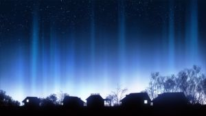 Light Pillars by mclelun