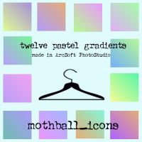 12 pastel gradients by tumescence