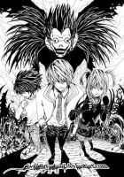 Death Note: World Of God by godlightyagami