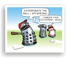 Dalek Little League by Captain-Galant