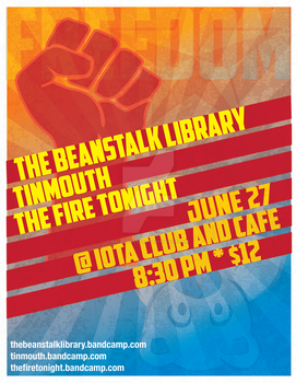 TFT and Beanstalk in DC show poster by GaladrielStar
