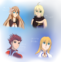 Tales of Symphonia - Knight of Ratatosk doodles by Nera-loka14