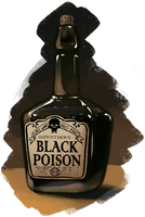 Gunnther's Black Poison by Gryphon-Shifter