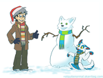 That Snowman Looks Familiar by Not-Quite-Normal