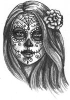Day of the Dead Girl by Dragonwings13