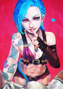 Commission - Jinx by MonoriRogue