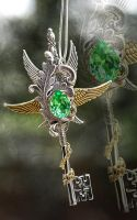 Tree Spirit Key Necklace by Drayok