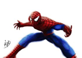 Spider-Man by Harshcore