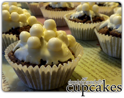 cupcakes - choco snowballs'2 by angelicetherreality
