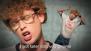 NicePeter as Napoleon Dynamite by Faceskinator