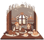 Hansel and Gretel's Feast by Fragile-yet-CunNINg