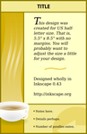 Coffee Invitation Template by masonmouse