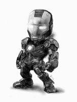Iron Man Chibi by reniervivas666