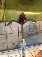 Lamp post spidey Close by juggaloai