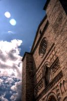 Church Facade HDR by johnwaymont