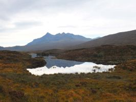 Cuillin reflections by piglet365