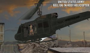 US ARMY Helicopter (XPS Re-Update) by bstylez