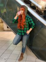 Gravity Falls Cosplay | Wendy Corduroy - Chillin' by Shadeila